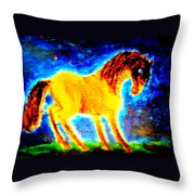 You Never Promised Me A Rose Garden, But You Left It For Me Anyway  Throw Pillow