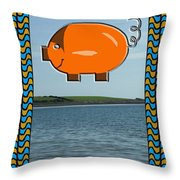 Proof That Pigs Can Fly Throw Pillow