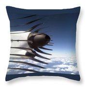 Propeller Movement Throw Pillow