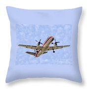 Propelling On In By Diana Sainz Throw Pillow