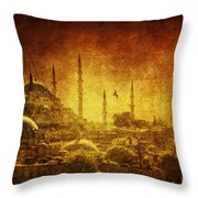 Prophetic Past Throw Pillow
