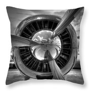 Props And Jet Throw Pillow