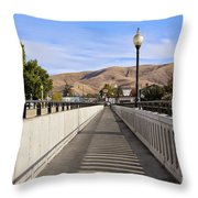 Prosser - Going To Town Throw Pillow