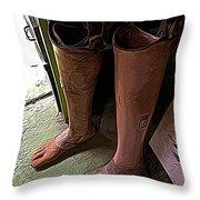 Prosthetics Throw Pillow