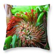 Protea Bouquet Throw Pillow