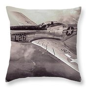 Protecting Home Throw Pillow
