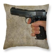 Protecting Your Home Throw Pillow