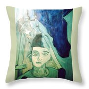 Protector Of The Great Land Throw Pillow