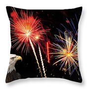 Proud And Free 3 Throw Pillow