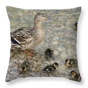Proud Mother Throw Pillow
