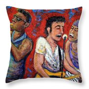Prove It All Night Bruce Springsteen And The E Street Band Throw Pillow by Jason Gluskin