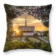 Prove Temple 2 Throw Pillow