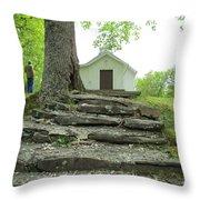 Proverbs 22..6 Throw Pillow by Diannah Lynch
