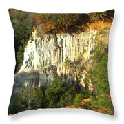 Providence Canyon State Park Throw Pillow