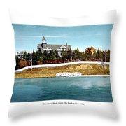 Providence Rhode Island - The Pomham Club - 1906 Throw Pillow