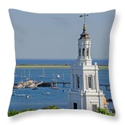 Provincetown Steeple Throw Pillow