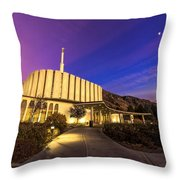 Provo Temple Throw Pillow