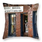 Provost Marshal Throw Pillow