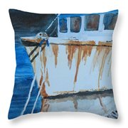Prow Reflected Throw Pillow