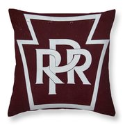 PRR Throw Pillow