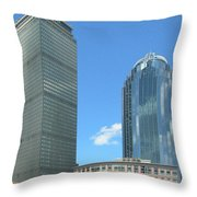 Prudential Building 2960 Throw Pillow