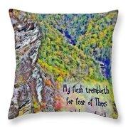 Psalm 119 110 Throw Pillow
