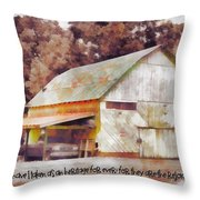 Psalm 119 111 Throw Pillow