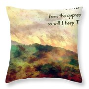 Psalm 119 134 Throw Pillow