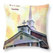 Psalm 119 151 Throw Pillow