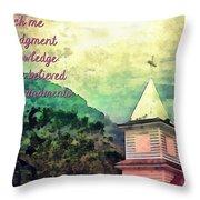 Psalm 119 66 Throw Pillow