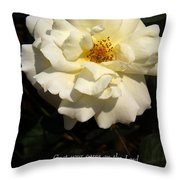 Psalm 55 22 Throw Pillow