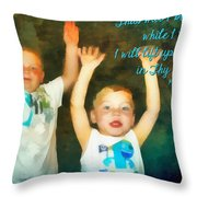 Psalm 63 4 Throw Pillow