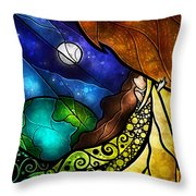 Psalm 91-4 Throw Pillow