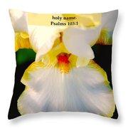 Psalms 113 V 1 Throw Pillow