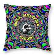 Psychedelic Bill Nelson Deluxe Throw Pillow