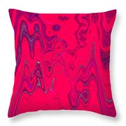 Psychedelic Throw Pillow by DigiArt Diaries by Vicky B Fuller