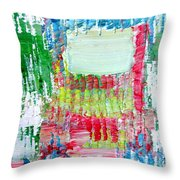 Psychedelic Object.2 Throw Pillow