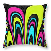 Psychel - 007 Throw Pillow by Variance Collections