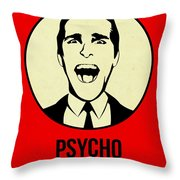 Psycho Poster 1 Throw Pillow