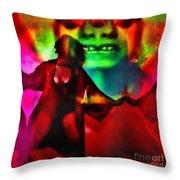 Psychotropic  Throw Pillow