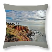 Pt Vincente Light House Throw Pillow