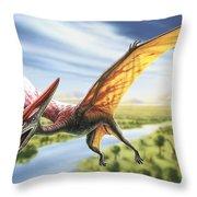Pterodactyl Throw Pillow