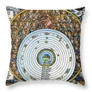Ptolemaic Universe, 1493 Throw Pillow