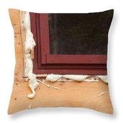 Pu Foam Fills In Gap Throw Pillow