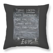 Pub Special Throw Pillow