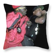 Public Enemy Throw Pillow