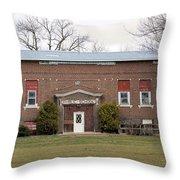 Public School Throw Pillow