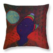 Pucker Up Blow Throw Pillow