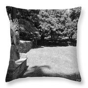 Pudding Stone Wall - Stickley Throw Pillow