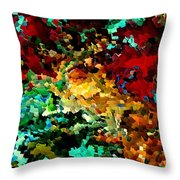 Puddle By Rafi Talby Throw Pillow